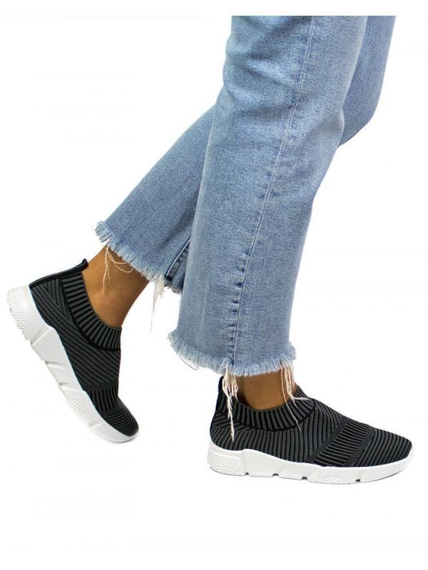 Deportivas de mujer negras, deportivas de malla mujer, zapatillas negras mujer, zapatillas deportivas baratas de mujer