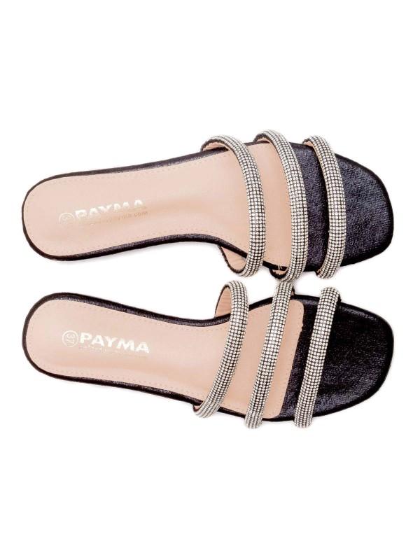Sandalia plana elegante