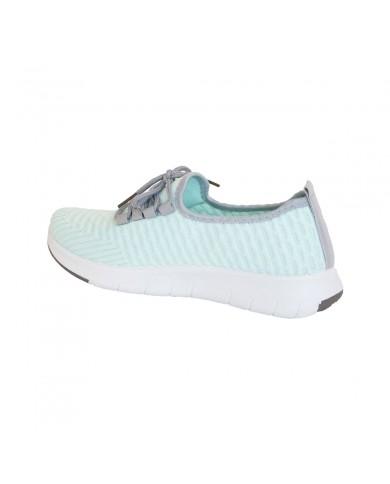 Deportivas de mujer aguamarina, deportivas de malla, zapatillas aguamarina mujer, zapatillas deportivas baratas de mujer