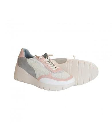 Deportivas de mujer, zapatillas plataforma mujer, zapatillas casual beige, zapatillas deportivas baratas de mujer