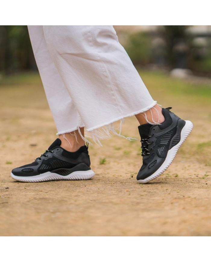 Deportivas de mujer negras, deportivas negras, zapatillas deporte mujer, zapatillas deportivas baratas de mujer