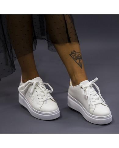 Deportivas de mujer con plataforma, zapatillas blancas con plataforma, zapatillas deportivas baratas de mujer
