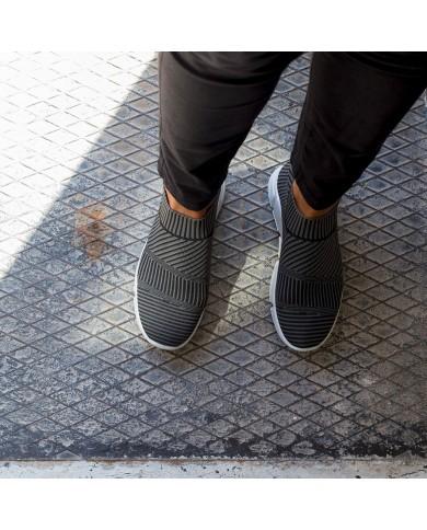 Deportivas de mujer gris, deportivas de malla mujer, zapatillas gris mujer, zapatillas deportivas baratas de mujer