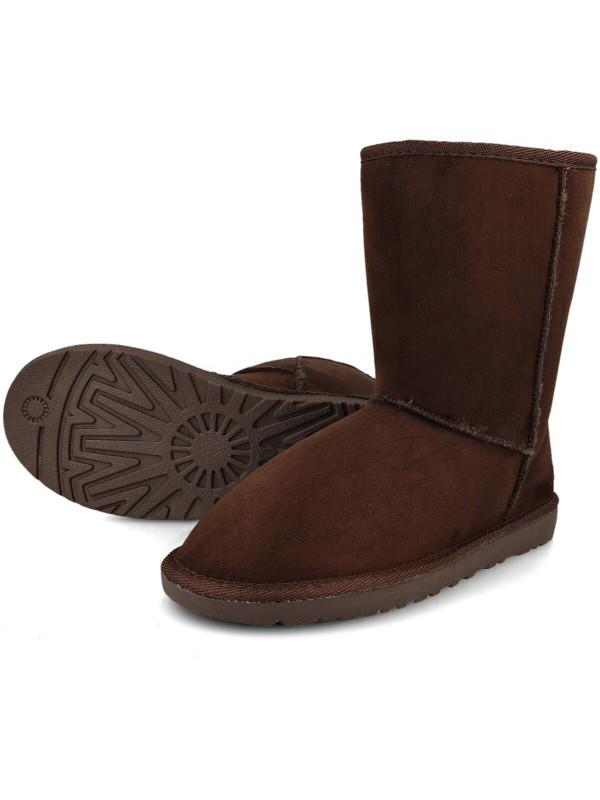 Bota australiana de mujer, bota australiana marrón, bota australiana alta