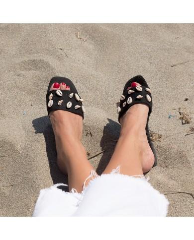 Sandalia plana y comoda