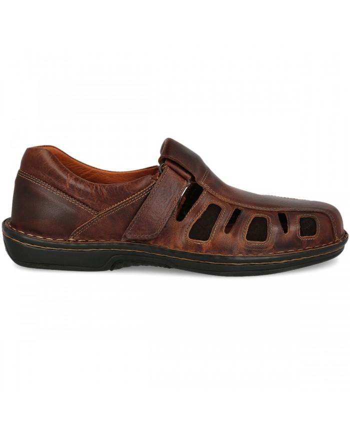 sandalias de hombre cerradas