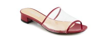 comprar sandalia vinilo rojo