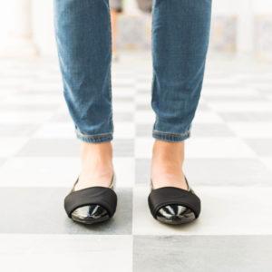 zapatos planos manoletinas con banda zapatos baratos planos
