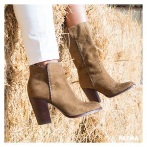 bota y botin beige novedades en calzado
