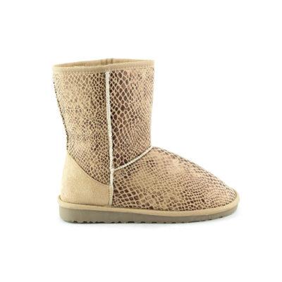 botas de invierno calentitas escamas