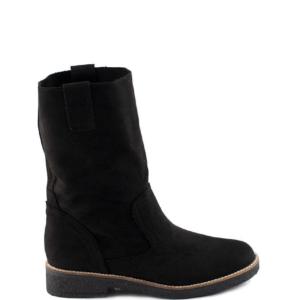 bota barata negra