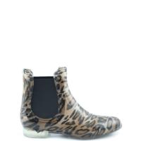 botas de agua mujer leopardo